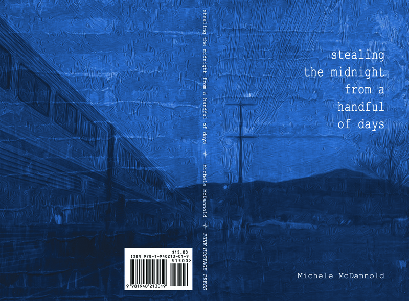 Stealing the Midnight from a Handful of Days by Michele McDannold from Punk Hostage Press